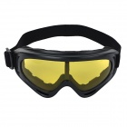 Multi-Functional UV Skiing Sports Goggles - Black + Yellow