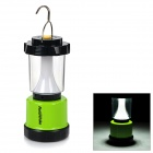 NatureHike Outdoor USB Rechargeable LED Tent Lantern Lamp w/ Hook for Camping - Green