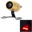 LF02 200MW 635-~660nm Laser Red Light Car Fog Bulb - Golden + Black (11~24V)