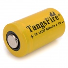 "TangsFire Rechargeable ""600mAh"" Li-ion 3.0V 15270 Batteries - Yellow + Black (4 PCS)"