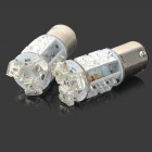 D1209 1.5W 48-Lumen 9-LED Car Red Light Bulbs (Pair/DC 12/24V)