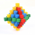 Colorful Educational Wooden Puzzle Unlock Toy - Multicolored