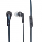 JTX JTX-A10 Stylish In-Ear Earphones w/ Microphone / 3.5mm for Smartphone - Black