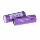 BestFire Rechargeable 3.7V 1600mAh er IMR 18500 Lithium Ion Battery - Purple (2 PCS)