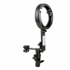 EOSCN LS Type Flash Speedlite Bracket Hot-Shoe Holder w/ Mount for Snoot Softbox