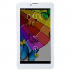 "N78 Dual-Core 7 ""Android 4.2.2 3G Tablet PC w / 4GB ROM, Doppel-SIM, Wi-Fi, GPS - Weiß + Golden"