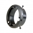 EOSCN SN-10 Mini Mount to Bowens Mount Interchangeable Ring Adapter for Mini Studio Flash - Black
