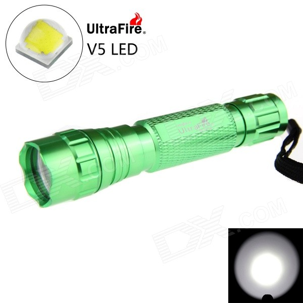 UltraFire 501B XP-L V5 LED 5-Mode 1200lm Branco FlashLuz (1 * 18650)