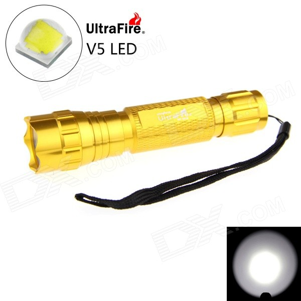 UltraFire 501B XP-L V5 LED 5-Mode 1200lm Flashlight (1*18650)