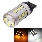 MZ T25 12W LED auto Steering / Backup Lamp Wit Geel Licht 1200lm 6000K 24-SMD 5630 (12 ~ 24V)