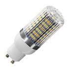 GCD GU10 6W Warm White + Neutral White LED Bulb w/ Striped Housing