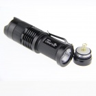 ultrafire SK68 xp-e Q5 100lm 1-Mode varm hvit zoomable LED-lommelykt
