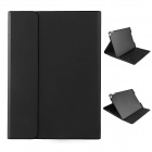 ROCK Bluetooth V3.0 56-Key Keyboard Protective PU + PC Case w/ Stand for IPAD MINI 3 - Black