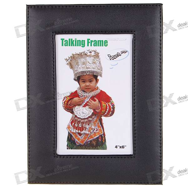 Stylish Photo Frame with Voice Recorder (2*AAA)