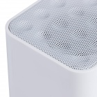 Aoluguya MW100 Bluetooth V2.1 + EDR Speaker w/ Mic, TF - White