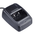 Baiston BST-320 Li-ion Battery USB Charger for Walkie Talkie - Black