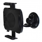 Universal 360 Degree Rotary Car Mount Holder w/ Suction Cup for IPAD / Samsung Galaxy + More - Black