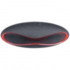 Aoluguya Y7 Bluetooth V3.0 + EDR Speaker w/ Mic, TF, FM, USB 2.0, Micro USB - Red + Black