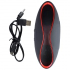 Aoluguya Y7 Bluetooth V3.0 + EDR Speaker w/ Mic, TF, FM - Red + Black