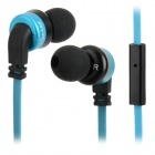 AWEI ES-13i Mega Bass In-Ear Earphones w/ Mic - Blue + Black