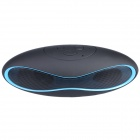 Aoluguya Y7 Bluetooth V3.0 + EDR Speaker w/ Mic, TF, FM, USB 2.0, Micro USB - Blue + Black