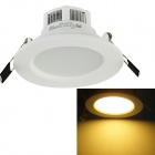 YouOkLight YK0450 3W 250lm 3000K 6-SMD 5730 LED Warm White Light Ceiling Lamp - White (AC 90-265V)