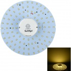 YouOkLight 19W 1850lm 100-2835 SMD Warm White Induction Ceiling Light