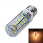 JIAWEN E27 7W LED Corn Lamp Bulb Warm White Light 800lm 3200K 36-SMD 5730 - White (AC 220V)