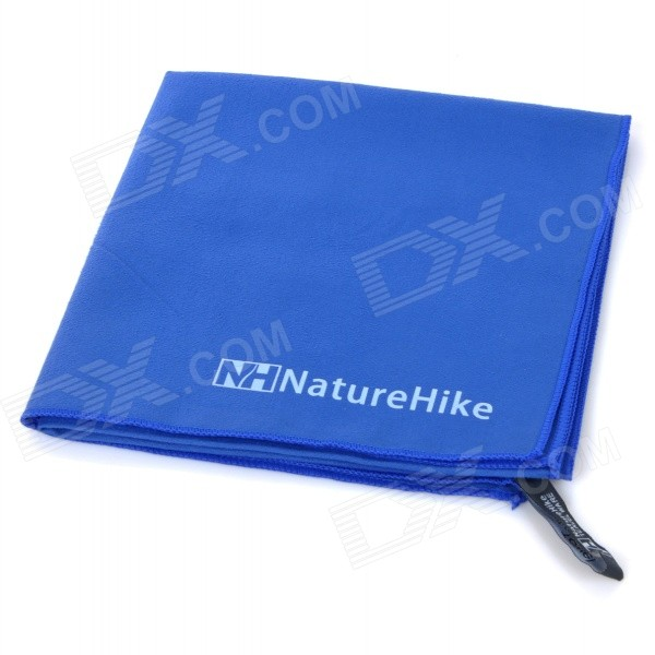 NatureHike Travel Sports Superfine Fiber Quick-Dry Towel - Blue