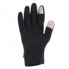 NatureHike Full-Finger Touch Screen Cycling Gloves - Black (L)