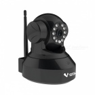 "VSTARCAM C7837WIP 1/4"" CMOS 1.0MP 720p IP Camera w / 10-IR-LED / Wi-Fi / TF - negro (enchufe UK)"