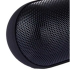 Aoluguya S300 Colorful Light Bluetooth Speaker w/ FM, TF, MIC - Black