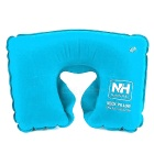 NatureHike Outdoor Travelling Camping U-Shape Air Inflatable Cushion Neck Pillow - Blue
