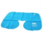 NatureHike U-Shape Air Inflatable Cushion Neck Pillow - Blue