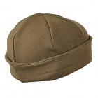 Unisex Outdoor Sports Fleece Knitted Warm Hat Cap - Khaki