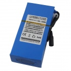 QR DC122000 12.6V 20000mAh Rechargeable Battery w/Switch - Blue+Silver