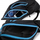NatureHike Outdoor Sports One-Shoulder Messenger Bag - Black + Blue