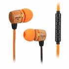 AWEI ES-16Hi Stylish 3.5mm Jack Wired In-ear Headset w/ Remote Control for Samsung / Android Phone