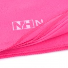 NatureHike Travel Sports Superfine Fiber Quick-Dry Towel - Deep Pink