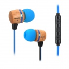 AWEI ES-16Hi Stylish 3.5mm Wired Auricular w / controle remoto para Samsung / Android Phone