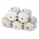 DIY DC 3~6V Motors - Silver (5 PCS)