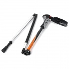 NatureHike 4-Section Folding Alpenstock w/ Strap - Orange + Black