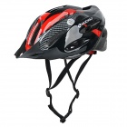 NUCKILY Bike Bicycle PC + EPS Safety Helmet for Cycling - Red (L)