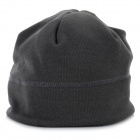 Fashionable Casual Warm Fleece Cap - Urban Grey