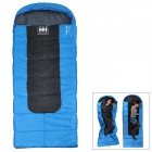 NatureHike Outdoor Camping Envelope Style Thickened Warm Sleeping Bag - Blue