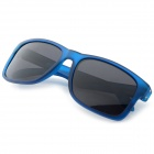 OREKA TR90 Frame Polarized Lens UV400 Sunglasses - Blue + Grey
