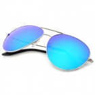 VD326 Polaroid Polarized Lens UV400 Sunglasses - Black + Blue REVO
