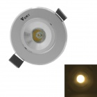WaLangTing 1W Ceiling Lamp Warm White 3200K 110lm LED w/ Driver - Silver (AC85~265V)