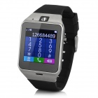 GV08+ GSM Smart Watch Phone w/ NFC, Quad-band, Bluetooth, GPS - Black