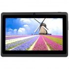 "AVOSD Q88D 7 ""Dual-Core-Android 4.4 Tablet PC w / 4GB ROM, Wi-Fi, Bluetooth, US-Stecker - Schwarz"